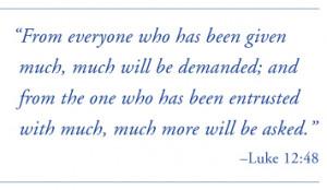 Luke Quote
