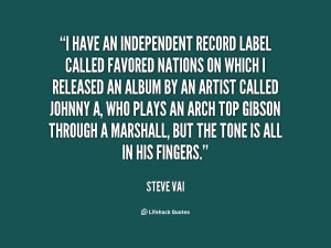 Independent Label quote #2