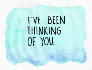 ve Been Thinking Of You