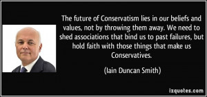 Conservative Values quote #1
