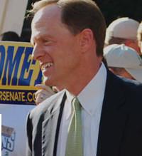 Republican Senator Pat Toomey of Pennsylvania