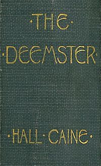 The Deemster' by Hall Caine - Spine detail.jpg