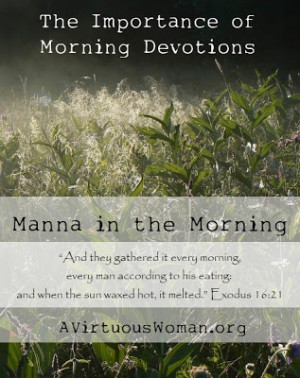 The Importance of a Morning Devotional