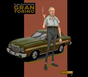 Gran Torino - Clint Eastwood by juarezricci