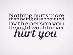 Quotes About Being Disappointed