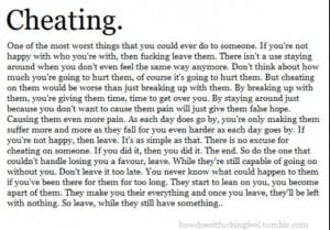 Cheating Quotes...