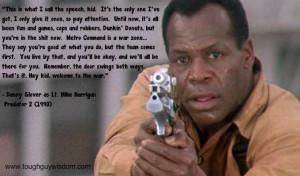 Glover predator 2 quote
