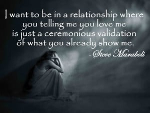 i want relationship not relationshit show