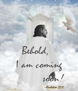 ... Coming Soon — Revelation 22:12 - made by BabySavira Mababe with