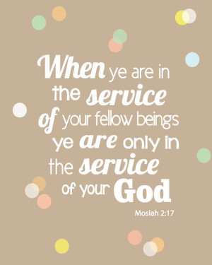 Service scripture quote printable poster pdf by sophieandlu, $6.00