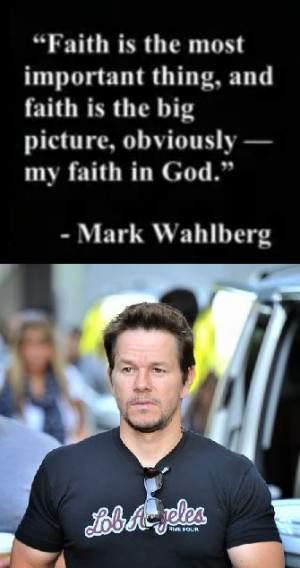 Celebs on FAITH - Mark Wahlberg,
