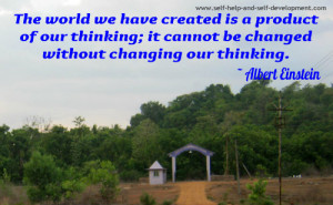 Thought Quote: The world we have created...