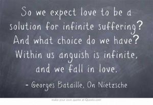 Georges Bataille, On Nietzsche