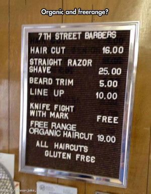 Take Your Gluten Free Hair Cut | Funny Pictures and Quotes