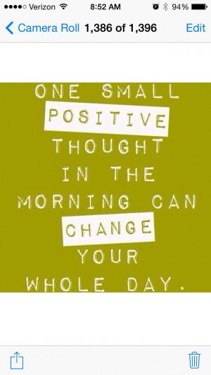 Positive change motivational quote