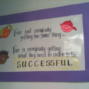 Love this quote! On the wall in my inclusion class!