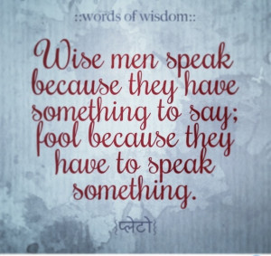 Beautiful #Quote from Plato :)