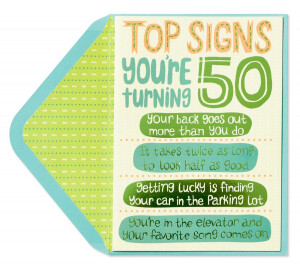 John Y's Musings from the Middle: Turning 50