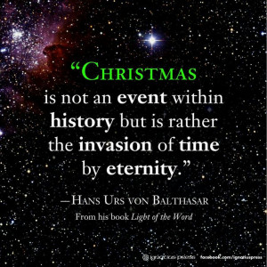 Christmas as religious Godly intervention. Being Jesus Came for ...