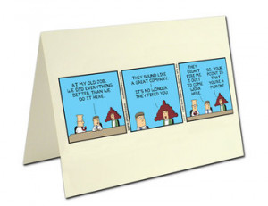 Scott Adams You're Great Quote Card
