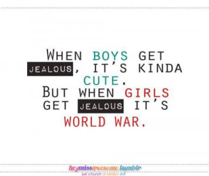 Jealous love quotes for girls