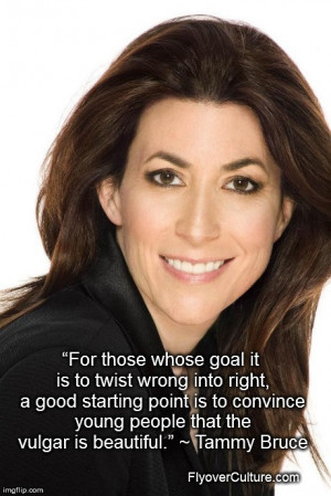 Tammy Bruce on culture