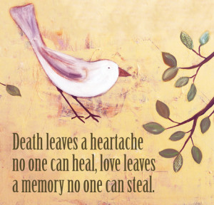 So much heartache lately. Are you missing someone today?