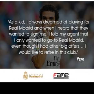 quote by Pepe. #halarealmadrid #realmadrid #academy #egypt #pepe # ...