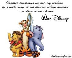 Walt Disney quote about teaching, the education system, resources, and ...
