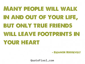 Quotes By Famous People About Friends #1