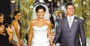 out 2008 Casamento da atriz Juliana Paes Eduardo Baptista