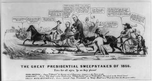 presidential election, Presidential election of 1856 presidential ...