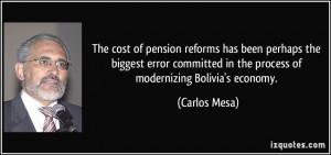 More Carlos Mesa Quotes