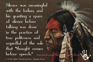 Chief Luther Standing Bear – Photo Gallery and Quotes