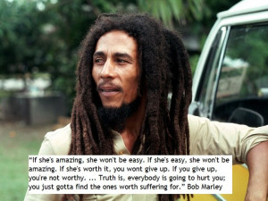 Bob Marley on relationship.