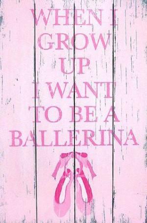Ballerina quotes.