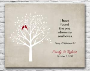 ... Family Tree Roots - Solomon Bible Verse - Poem Art Print 8x10