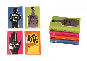Wells Covers, Chosen for In Book By D&AD