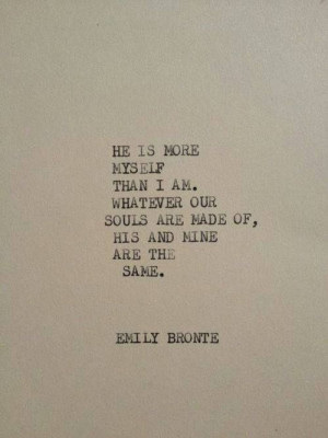 Emily Bronte Quotes About Love