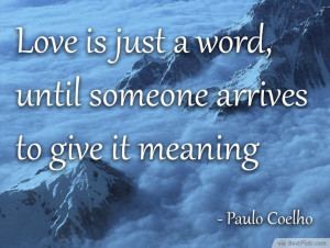 ... Meaning Of Love