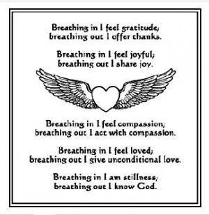 Prayer of St. FrancisAssisi Breath of Life Meditation Prayer