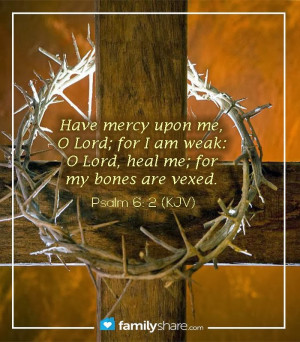 God's Mercy and Healing Power!