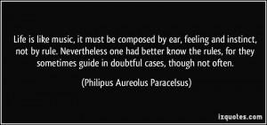 More Philipus Aureolus Paracelsus Quotes