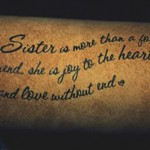 ... Showing Your Grief Of Losing A Sister with Passing Of A Sister Quotes