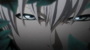 Gin's eyes - Bleach Screenshot