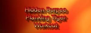 Hidden Burpee Planking Tiger Workout 20 min
