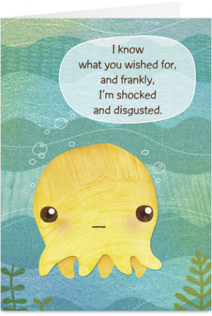 Shocked and Disgusted Funny Love Greeting Card
