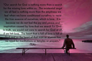 Love and God Quote