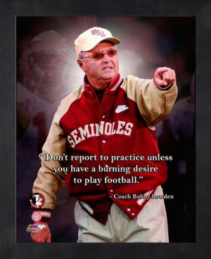 Bobby Bowden Pro Quotes -