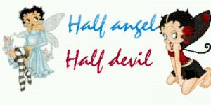 Half Angel/Half Devil